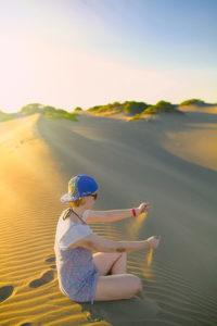 Las dunas de baní - desert