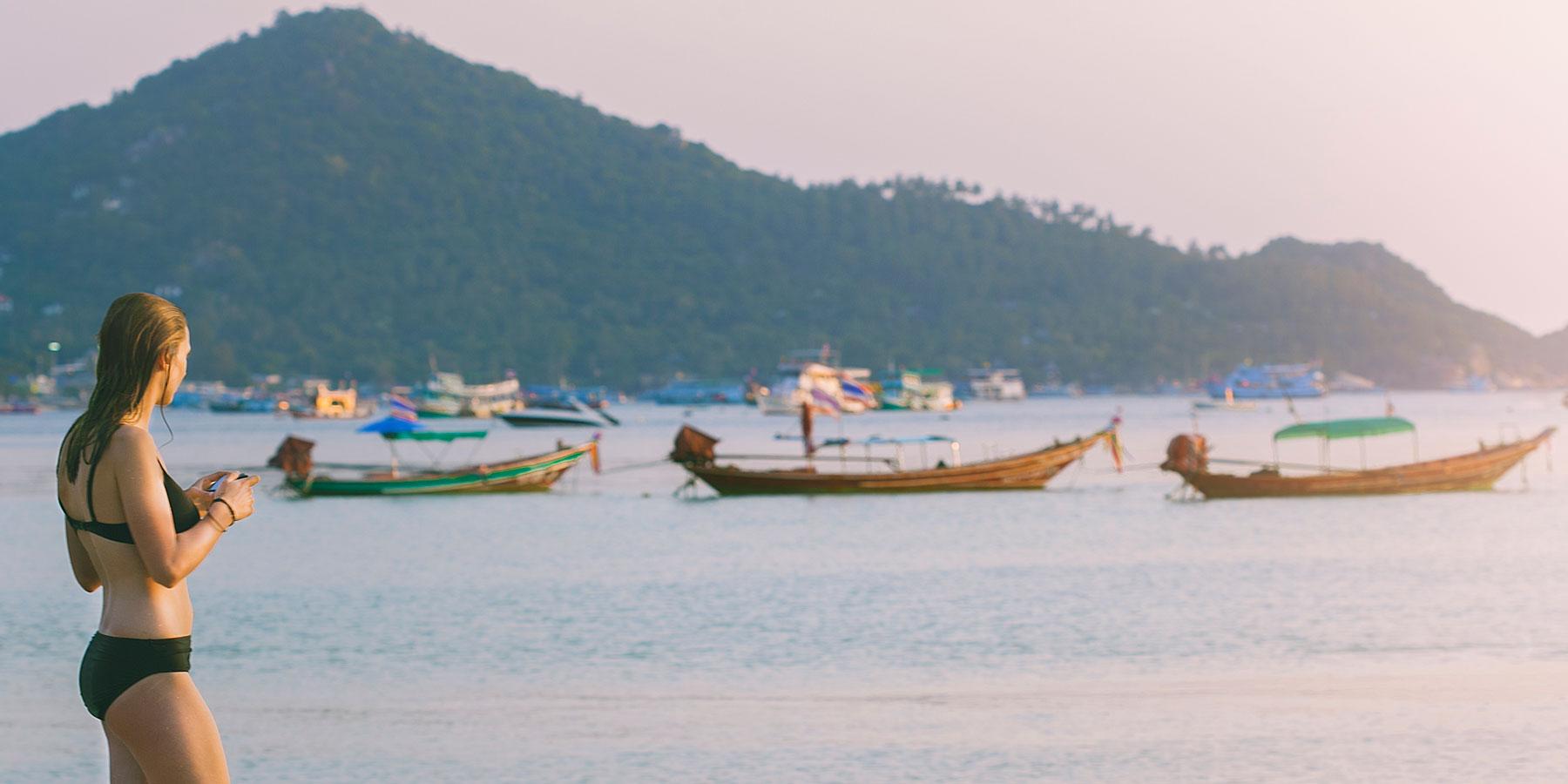 Jess in Ko Tao, Thailand