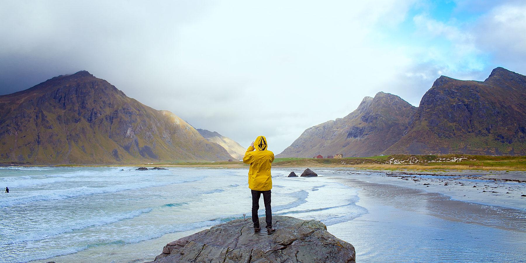 Capturing the landscape in Lofoten, Norway